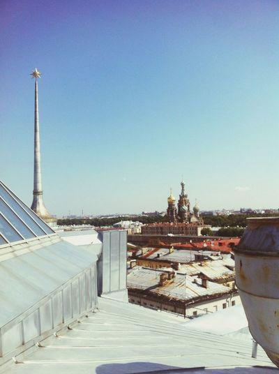 В Питер с головой крыши Петербурга Спас на крови длт
