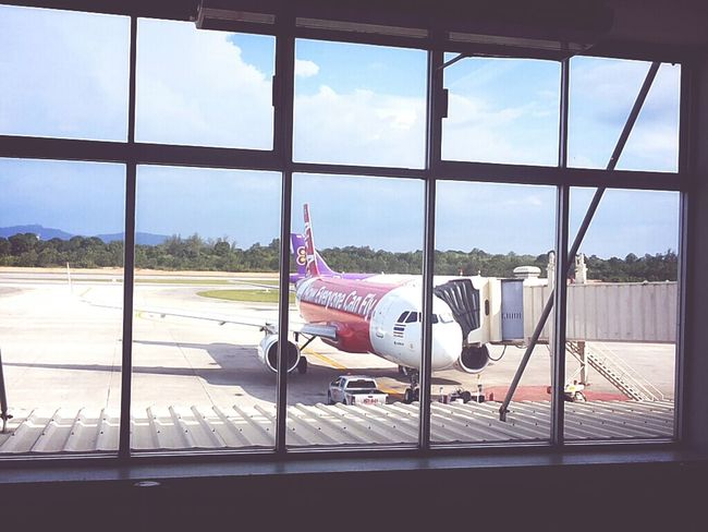 @ Hat Yai Airport HDY Air Asia & Thai smile airways Air Asia At The Airport