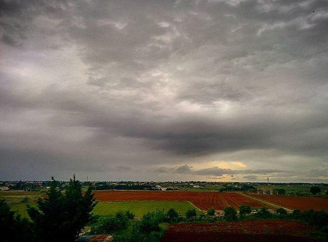 Salento Ortelle Nature Natura Campagna Cielo Sky Nuvole