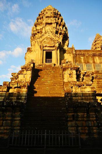 Sunrise at Angkor Wat Sunrise Early Morning Angkor Wat Cambodia