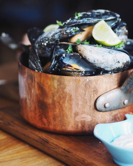 Fresh Food Cooking Healty Food Musselshell Mussels Food And Drink Food No People Freshness Indoors  Close-up Focus On Foreground Healthy Eating Seafood Food Stories