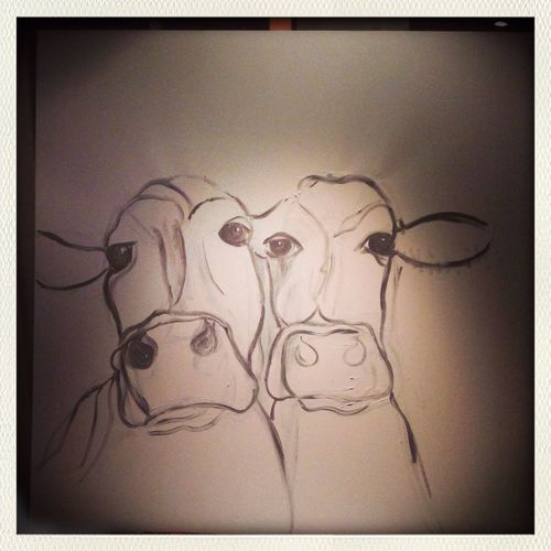 Drawing cows & Relaxing relax my mind Check This Out
