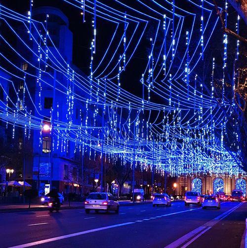 City lights City Life Streetphotography Winter Christmas Christmas Lights