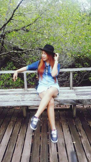 ประสบการณ์ใหม่ เกิดขึ้นได้ทุกวัน RePicture Travel Traveler Girl Travel Time!!! Memories Holiday Trip My Holidays On Vacation อ่าวคุ้งกระเบน Ilovethailand