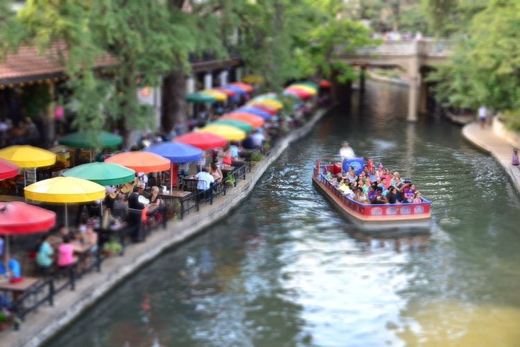 San Antonio Travel Tourist River Outdoors Large Group Of People Real People Water Nautical Vessel