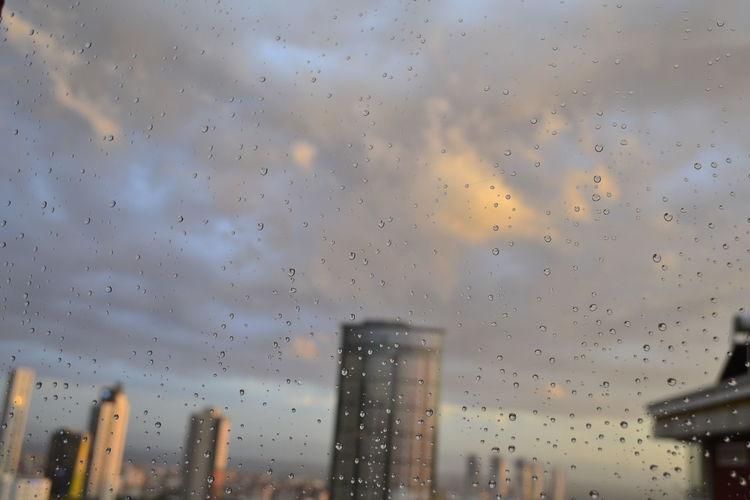 Rain Sky Nature City Cityscape Window Skyscraper Drop Skylover Clouds And Sky Cloud Cityistanbul Istanbul City Istanbul Turkey Istanbul Istanbulpage
