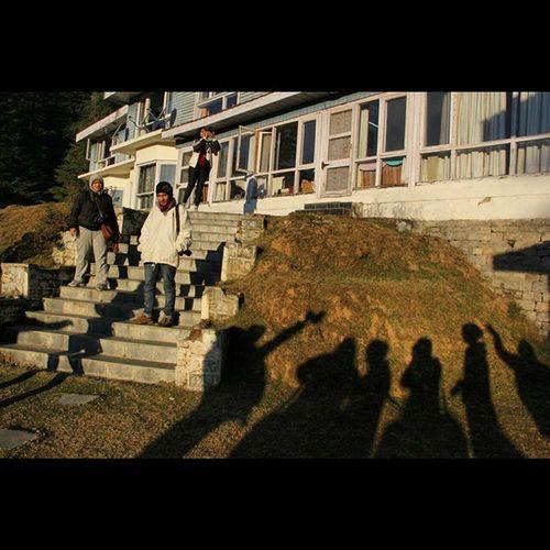 Shadow Khajjiar People Morning tripreadyhimachaltourtravelindia