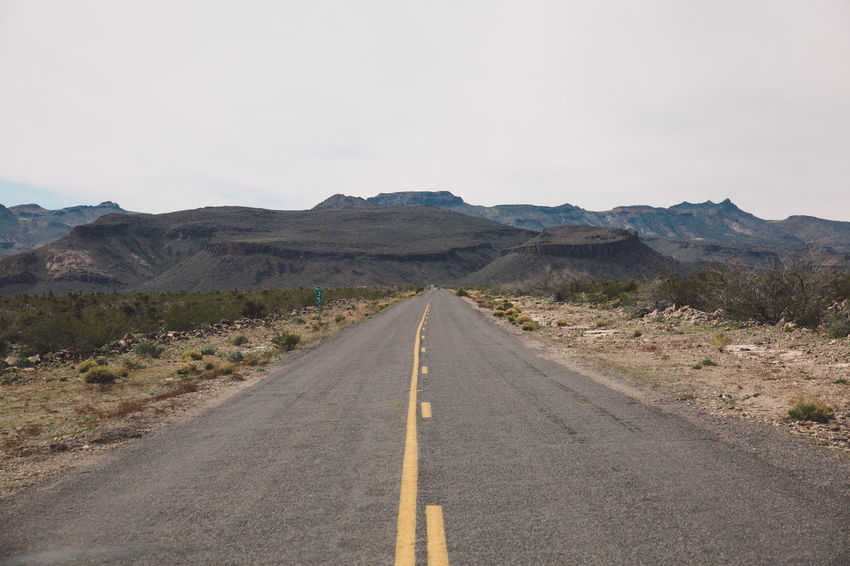 Arid Climate Arizona Asphalt Day Desert Dividing Line Landscape Mountain Mountain Range Nature No People Outdoors Road Road Road Marking Roadtrip Route 66 Route66 Scenics The Way Forward Tourist Attraction  Tourist Destination Tranquil Scene Tranquility Transportation Been There.