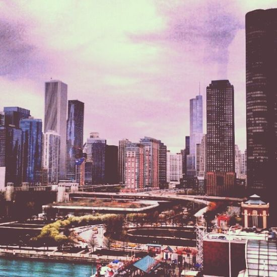 view from ferris wheel at navy pier Hello World Citylife Chicago Taking Photos