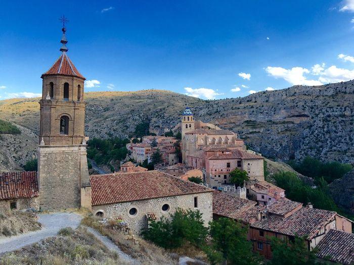 EyeEm Selects Architecture Tower Nature Enjoying Life IPhone 7 Plus Taking Photos Pueblos De España Paisaje Blue Sky