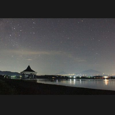 Look at the star, Look how they shine for you. Coldplay - Yellow WadukBade Nightphotography Coldplay MerapiMerbabu INDONESIA