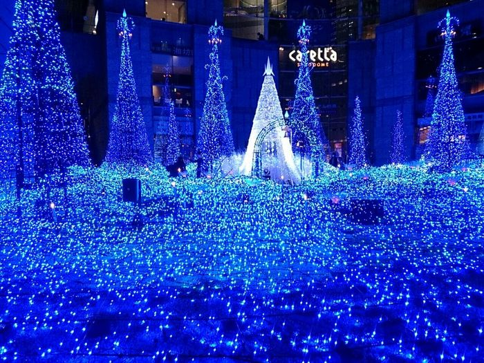Relaxing Taking Photos Hi! Enjoying Life Hello World Hanging Out Tokyo Japan 新橋 汐留 Eye4photography  EyeEm Best Shots My Country In A Photo Illumination Beautiful Blue Christmas Tree