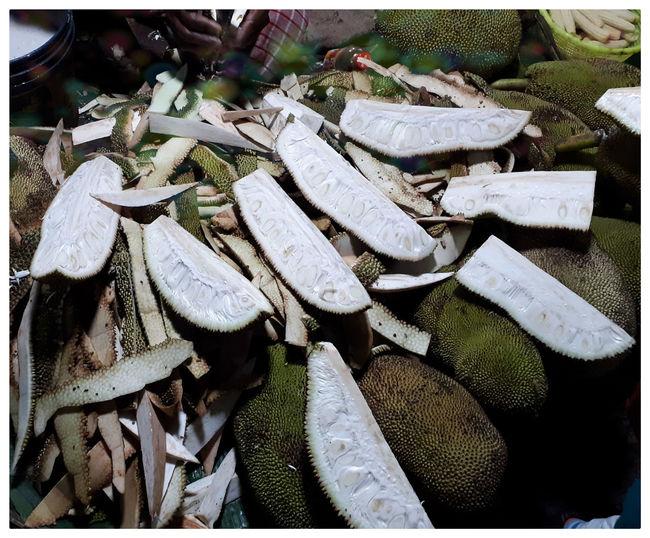 Full frame shot of firewood for sale