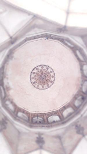 High angle view of metal