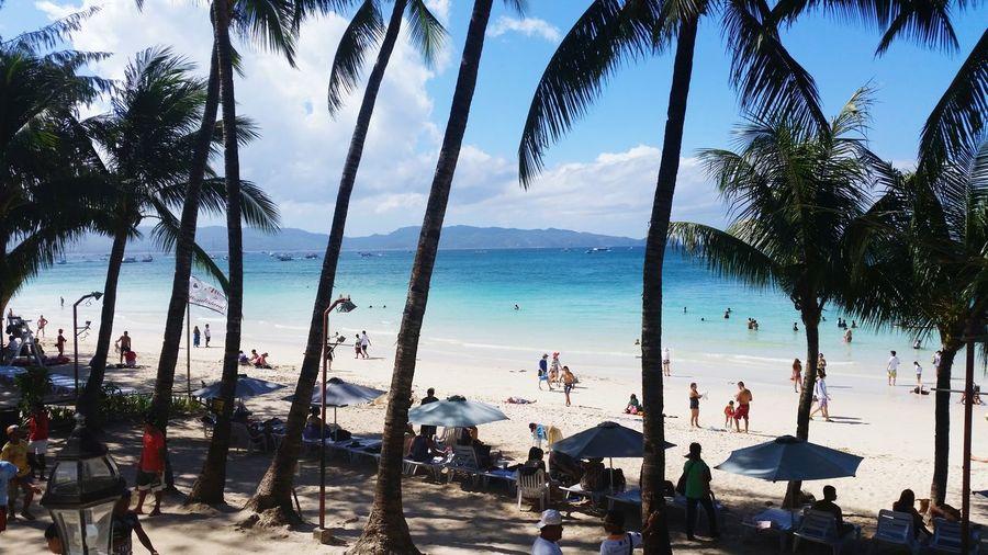 Boracay. Paradise Life Is A Beach Summer2015 Beautyofbeach Relaxation Seaview Vacation