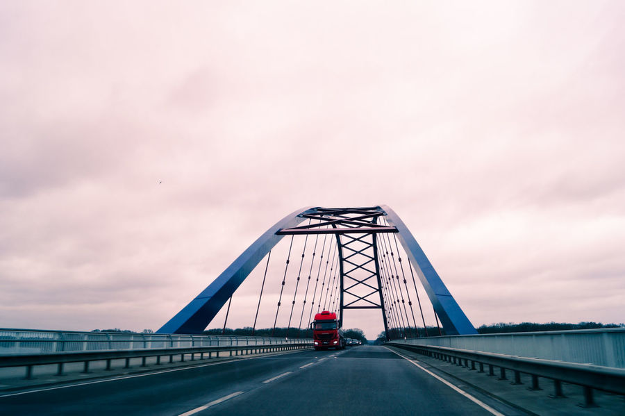 Architecture Bridge Bridge - Man Made Structure Built Structure Cloud Cloud - Sky Cloudy Connection Diminishing Perspective Engineering Envision The Future Highway Mode Of Transport Overcast Road Road Marking Sky The Architect - 2016 EyeEm Awards The Great Outdoors - 2016 EyeEm Awards The Photojournalist - 2016 EyeEm Awards The Street Photographer - 2016 EyeEm Awards The Way Forward Transportation Vanishing Point Weather Sommergefühle EyeEm Selects Connected By Travel Mobility In Mega Cities Colour Your Horizn