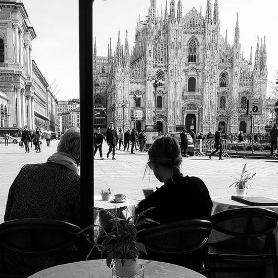 Try to spend time together Milan Milan,Italy Milano Doumo De Milano Doumo Up Close Street Photography Telling Stories Differently The Photojournalist - 2016 EyeEm Awards On The Way