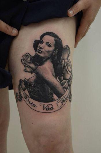 Art Tattoo Ditavonteese Tattooed Girl
