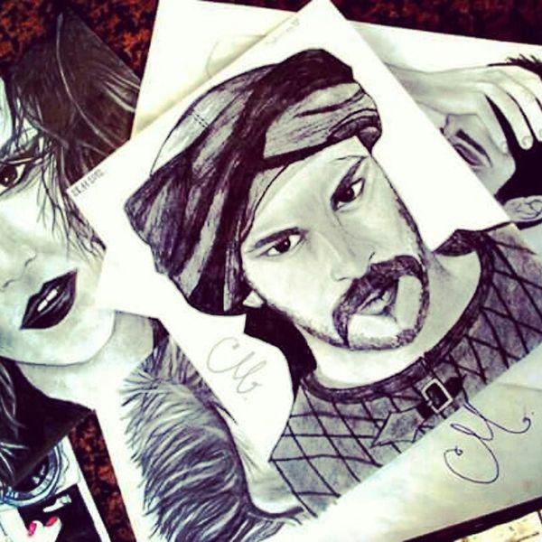 Mylife Creative Goodstuff Pencil Drawing Colorfull Art Passion Light And Shadow Buraközcivit