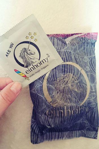 Are you? 😄 got this from a good friend 😄👌.Unicorn Einhorn Condoms Gag Fun