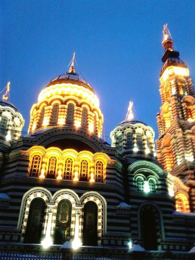 Dome Religion Architecture Place Of Worship Built Structure Night Travel Destinations