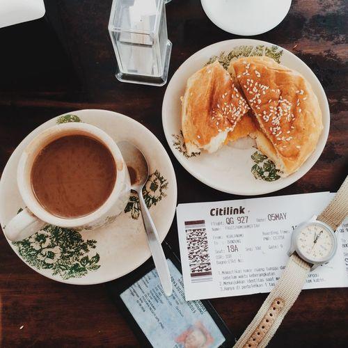 Breakfast at the Airport Kualanamu Airport Breakfast Toast🍞 Coffee Lifestyle Quickmeal Airport Bangi Kopitiam