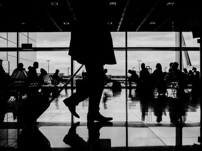 Airport Project : 2015 Frankfurt Airport AirportprojectbySZ FrankfurtAirport Airport Frankfurt Eye4photography  EyeEm Best Shots The Street Photographer - 2015 EyeEm Awards Eyem Gallery TheWeekOnEyeEM Streetphotography Streetphoto_bw Street Photography Blackandwhite Snapshots Of Life