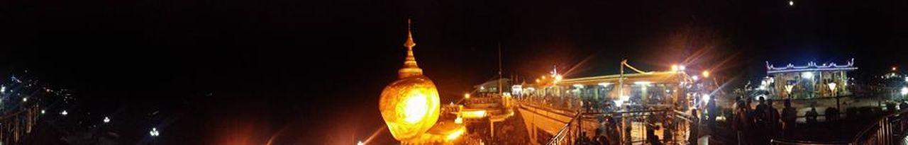 Buddhist Pilgrimage Golden Rock Golden Rock Pagoda Kyaiktiyo Pagoda Myanmar Yangon