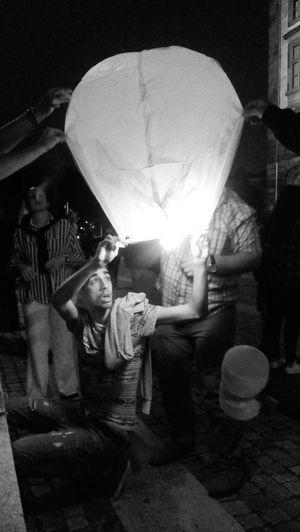 Fire Balloon Saint John Tradition
