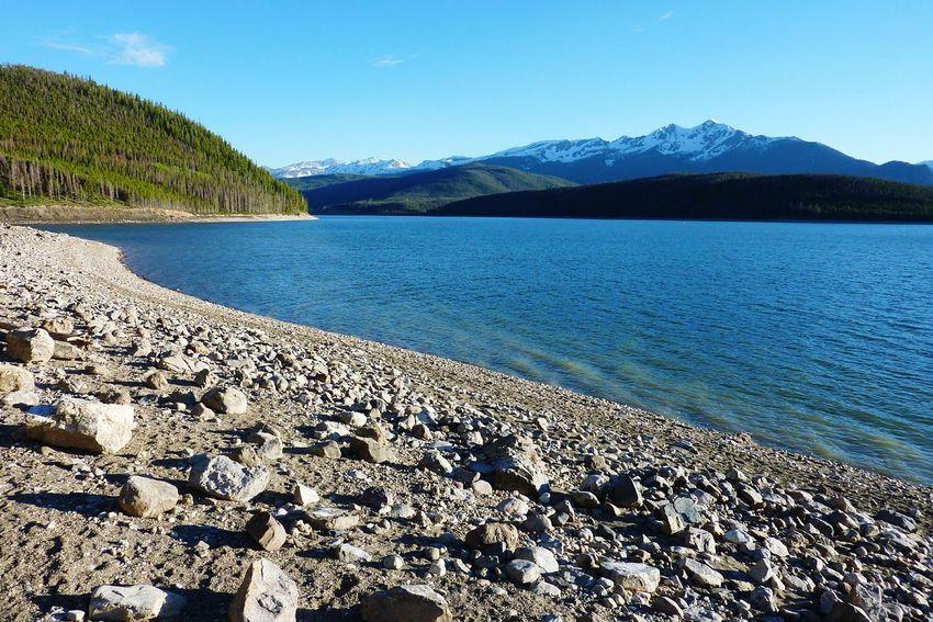 My favorite spot on the lake Lake Dillion Colorado
