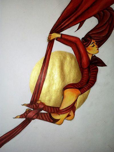 Michelle Szajkowski Gold Colored Girl Power Girl Ava's Demon <3 Ava's Demon Ava Ire