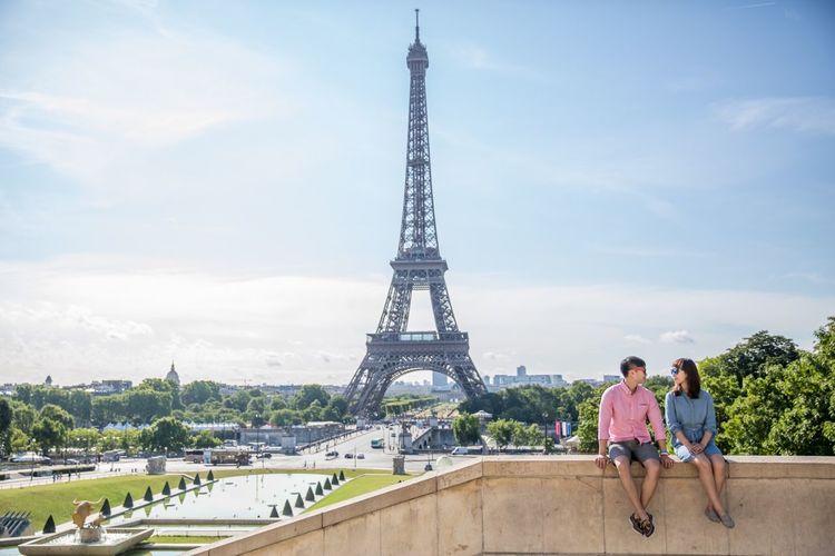 RePicture Travel Paris, France  Tour Eiffel First Eyeem Photo Paris ❤ Honeymoon At Palais De Chaillot