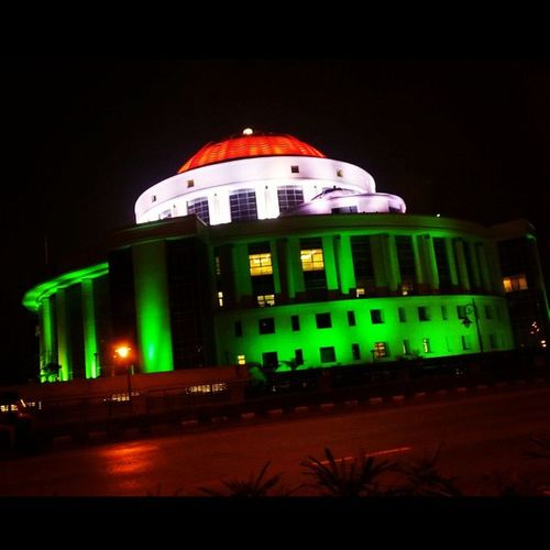 "Tricolor Indianflag Great Lighting Navimumbai Palmbeachroad NMMC👌 Pic Suggested by- ""The @aishwaryavsap ji"" 😘"