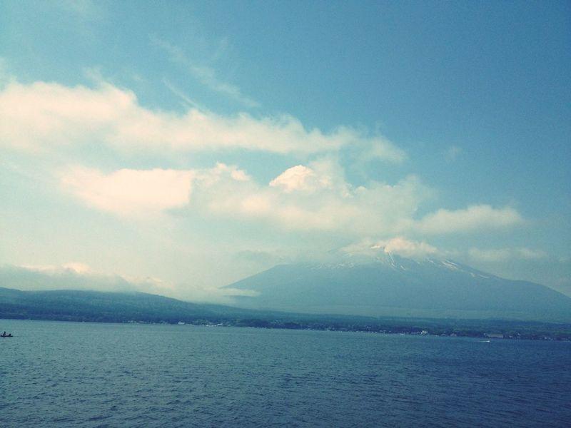 #山中湖ロードレース #山中湖 #富士山 #10km地点