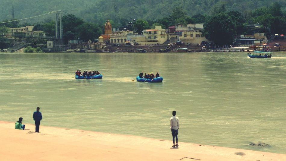 Water River Ganga River Rishikesh India Indian River Rafting!!