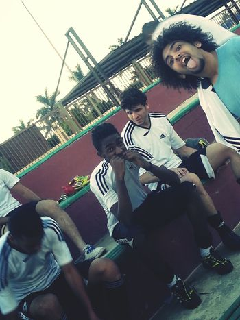My team ♡♥Football♡♥Egypt. Cairo Taking Photos Hello World Hanging Out