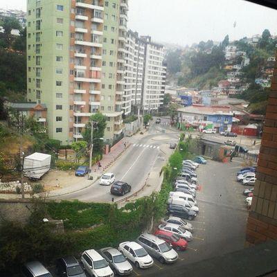 Valparaíso Inacap City Valparaisochile Chile Paisaje Beautifulcity Universidad Clases Class Boring Aburrida