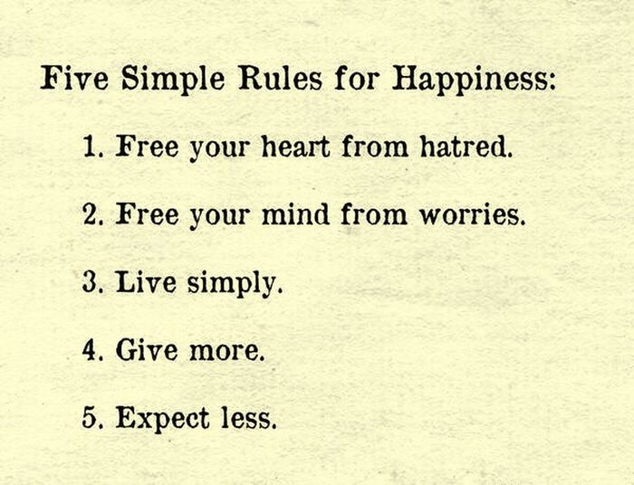 Five Simple
