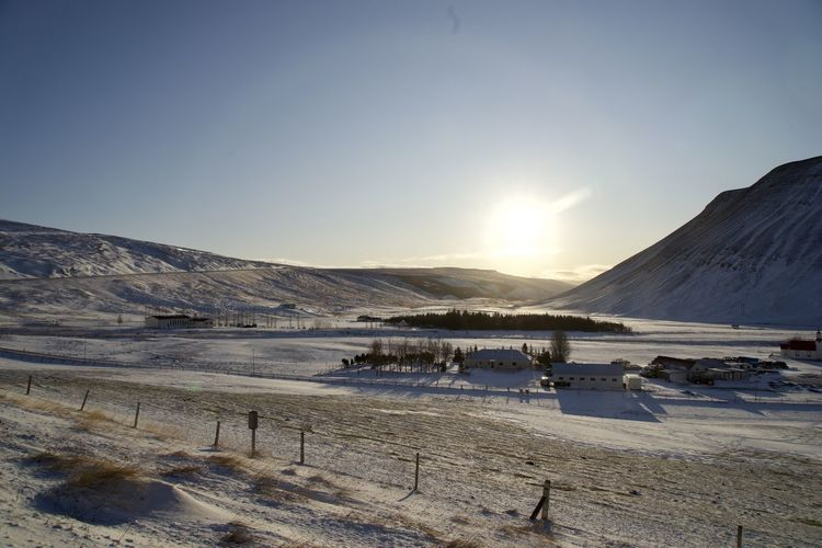 Sky Snow Winter