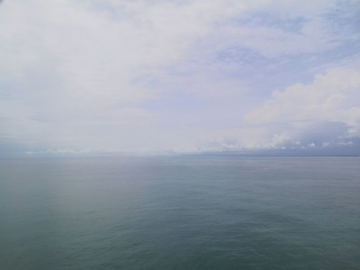 Sea Scenics Tranquility Nature No People Outdoors Day Cloud - Sky Sky Beauty In Nature Tranquil Scene Horizon Over Water Landscape Water Fog Manuel Antonio National Park Costa Rica 🇨🇷 Parasailing Beauty In Nature Beach Life Travel Destinations