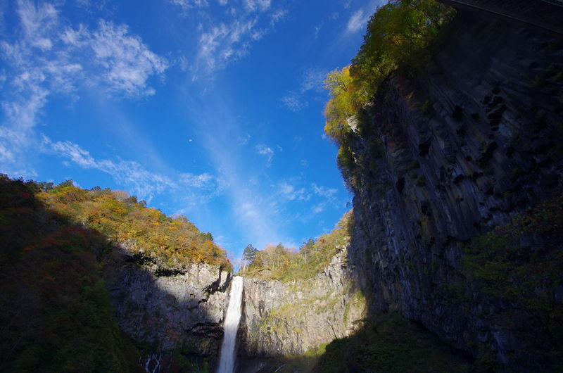 華厳の滝 Blue Nature Sky Beauty In Nature No People Beauty In Nature Nature 日光 Traveling 旅行 風景 自然 Autumn 華厳の滝