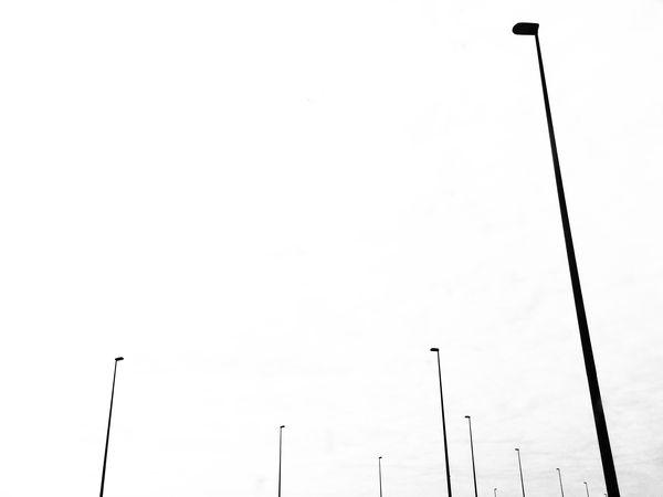 Street Light Street Lamp Road Clear Sky Minimalist Minimalism Minimal Outdoors Lighting Equipment Bnw Bnw_collection EyeEm Best Shots - Black + White Blackandwhite Photography Blackandwhite Tranquility Mmaff From My Point Of View EyeEm Gallery Eye4photography  Taking Photos Hello World EyeEm Best Edits Light And Shadow