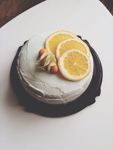 Homebaker Orange Cake