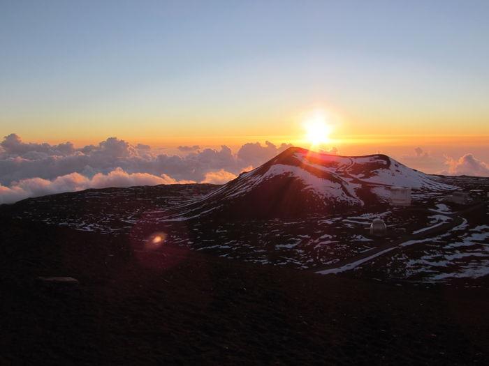 Big Island Hawaii Hawaii High Attitude  Mauna Kea Mauna Kea Observatories Wanderlust Adventure Summit Sunset
