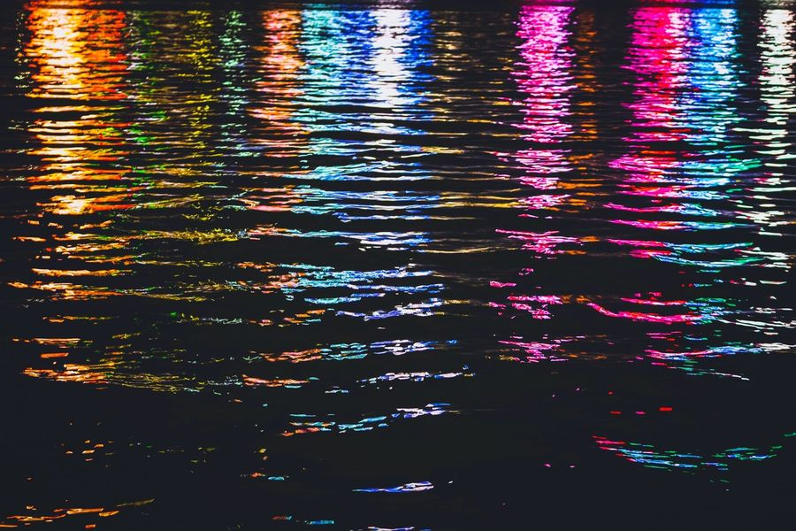 Reframinghk Nightshooters Handheld Discoverhongkong Ripple Water Reflection Waterfront No People Rippled Full Frame Nature Backgrounds Outdoors High Angle View Day Sunlight Swimming Pool Multi Colored Illuminated Lake Pattern Beauty In Nature Pool