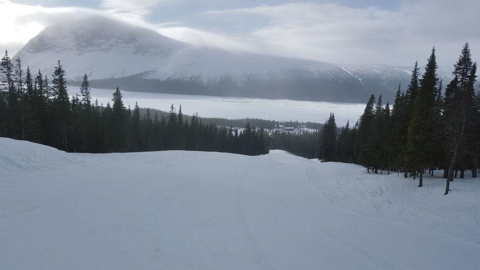Bogafjäll Mountain Downhill Skiing