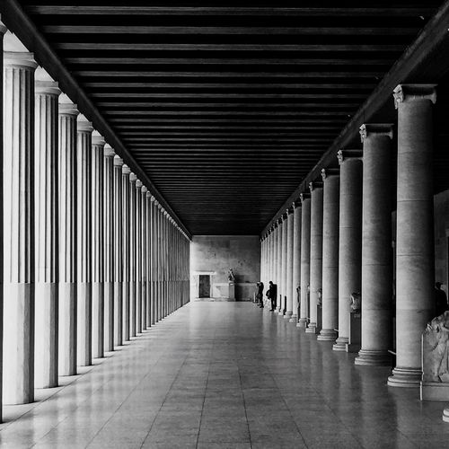 Center point perspective Check This Out Architecture Museum Blackandwhite Dayinthemuseum Global Photographer-Collection Global Photographer Works Exhibition Global Photographers Alliance Archeologymuseum Order Classic
