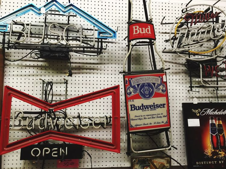 Neon beer signs for sale Beer Sign Beer Signs Neon Sign Neonsigns Neonsign Millertime Millerhighlife Budweiser Budwieser MichelobUltra Busch