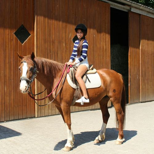 Summer Holidays Horse Riding Happy People Fun Lalita😊