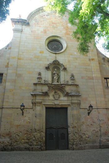Architecture Barcelona Barcelona, Spain Building Exterior Built Structure Catalonia Catalunya Church Day Fresco No People Outdoors Place Of Worship Religion Rose Window SPAIN